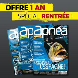 DERNIERS JOURS : Profitez de l'offre rentrée Apnéa !