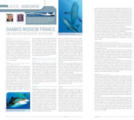 Article Subaqua n° 257 pour mieux connaitre Sharks Mission ...