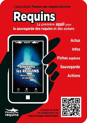 application mobile pour la sauvegarde des requins