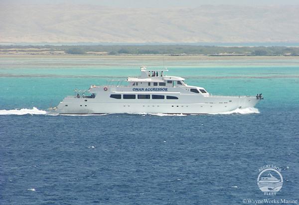 Nature Plongée, le sultanat d'Oman, Omanair et la flotte Aggressor