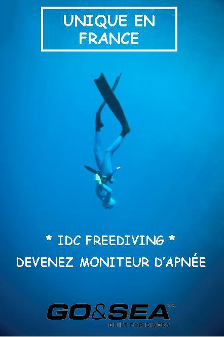 IDC FREEDIVING, DEVENEZ MONITEUR D'APNEE avec GUILLAUME NERY
