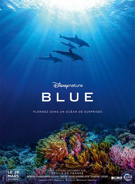 Bande annonce de BLUE, le prochain documentaire de Disney Nature