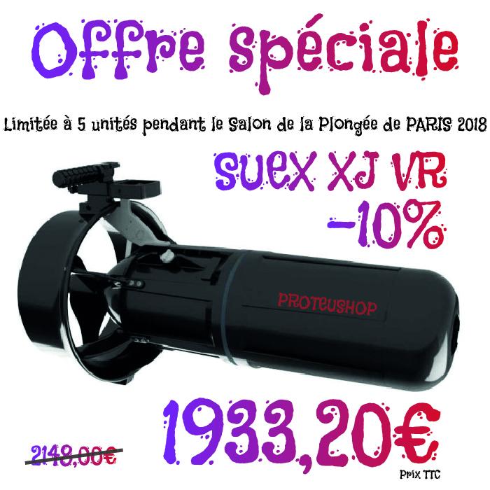 Offre spéciale -10% Scooter SUEX XJ VR chez PROTEUSHOP / D29