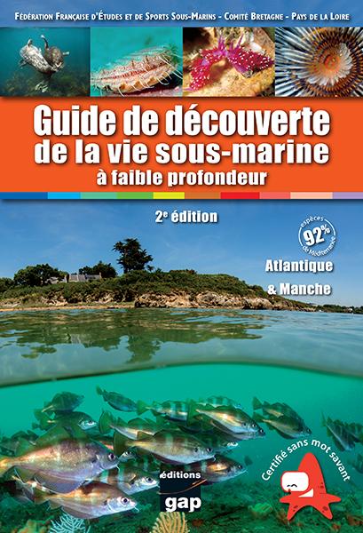 Guide découverte vie sous-marine Atlantique
