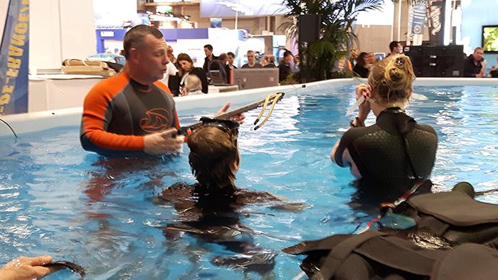 Baptêmes de Tir sur Cible subaquatique