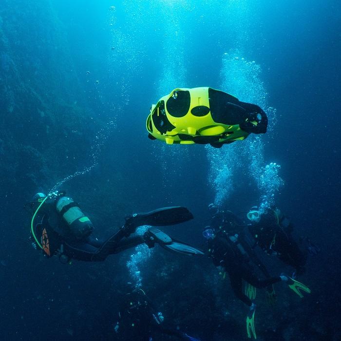 iBubble - Le drone sous-marin autonome