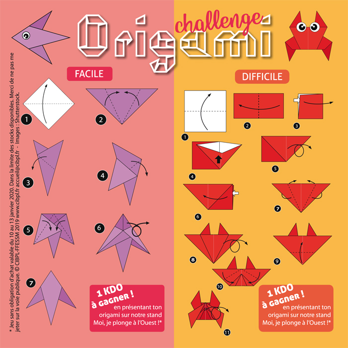 L'origami challenge