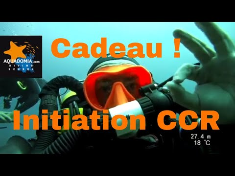 Initiation recycleur CCR gratuite