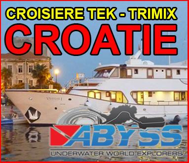 CROISIERE TEK-TRIMIX EN CROATIE
