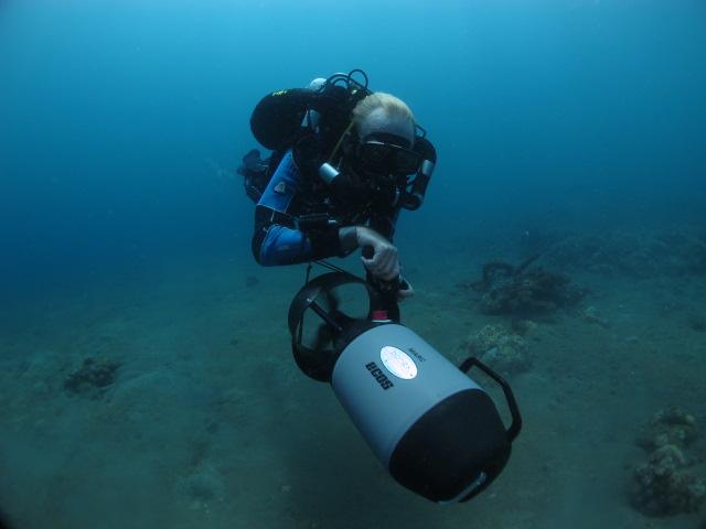 Pourquoi plonger avec un scooter sous-marin