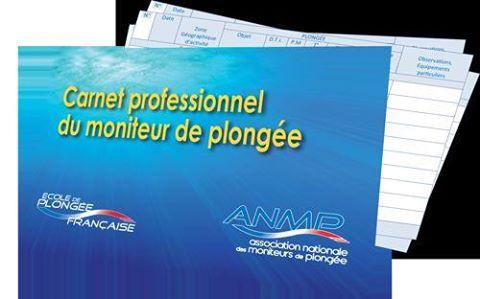 Un carnet de plongée professionnel pour vous instructeurs ...