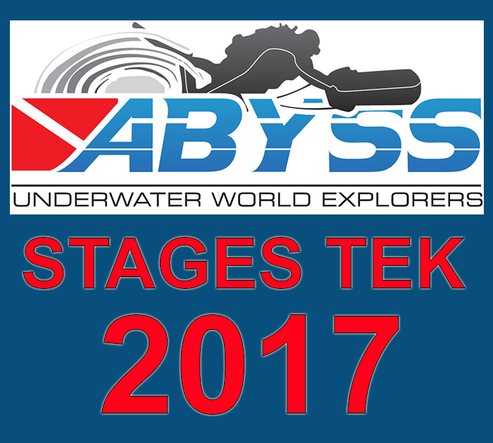 ABYSS UWE - PLANNING DES STAGES TEK 2017