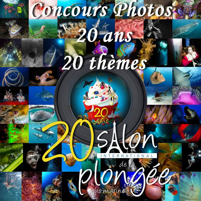 Le concours photos du 20ème Salon de la Plongée est ouvert !