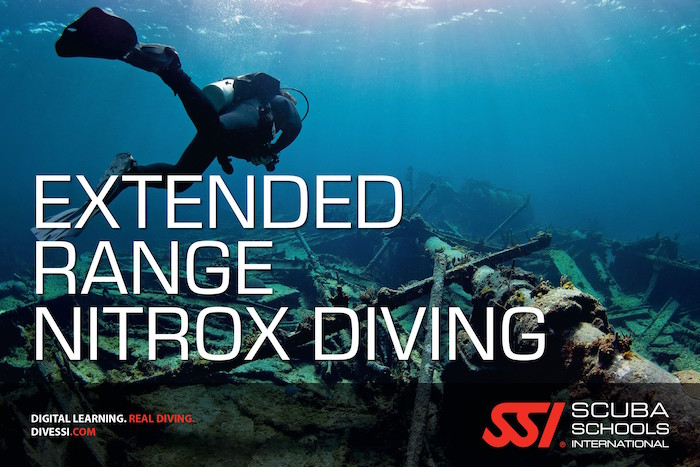 SSI Extended Range Nitrox Diving