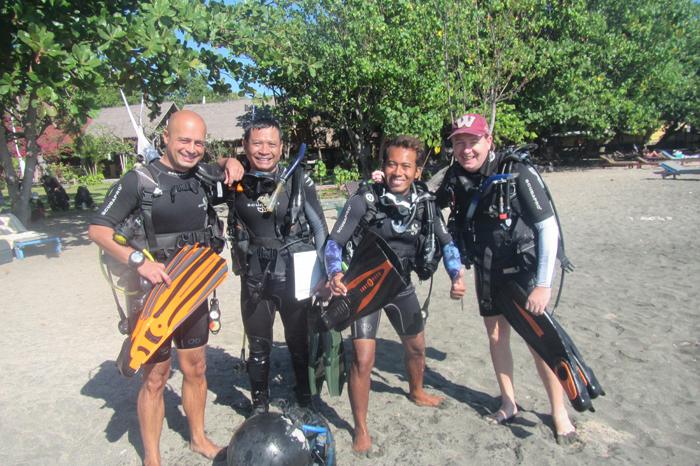 Cours Instructeur a Pemuteran Bali