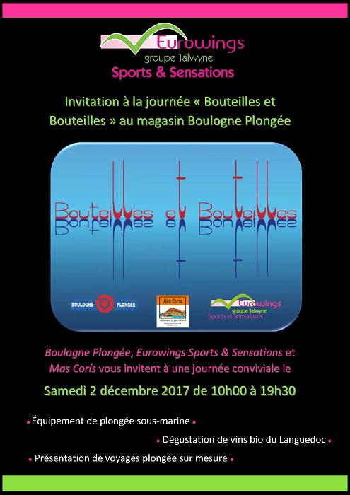 SAMEDI 2 DÉCEMBRE - JOURNÉE BOUTEILLES ET BOUTEILLES