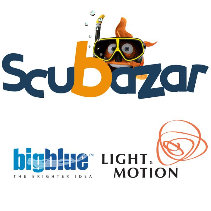 Scubazar, Light and Motion et Big Blue !