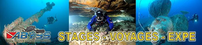 ABYSS UWE: STAGES - VOYAGES - EXPEDITIONS 2018 !