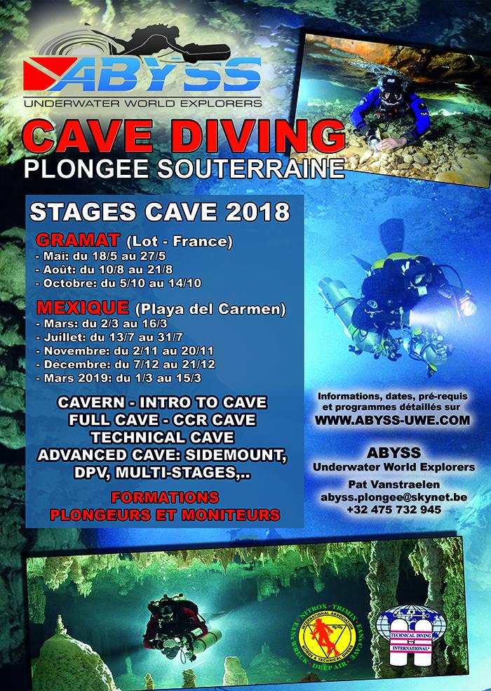 PLONGEE SOUTERRAINE - CAVE DIVING