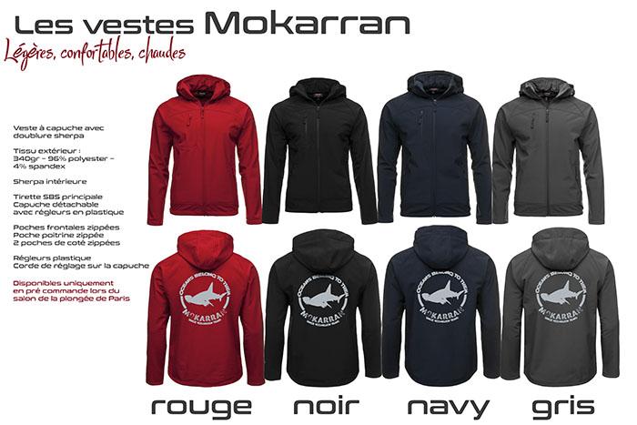 Les vestes MOKARRAN !!!