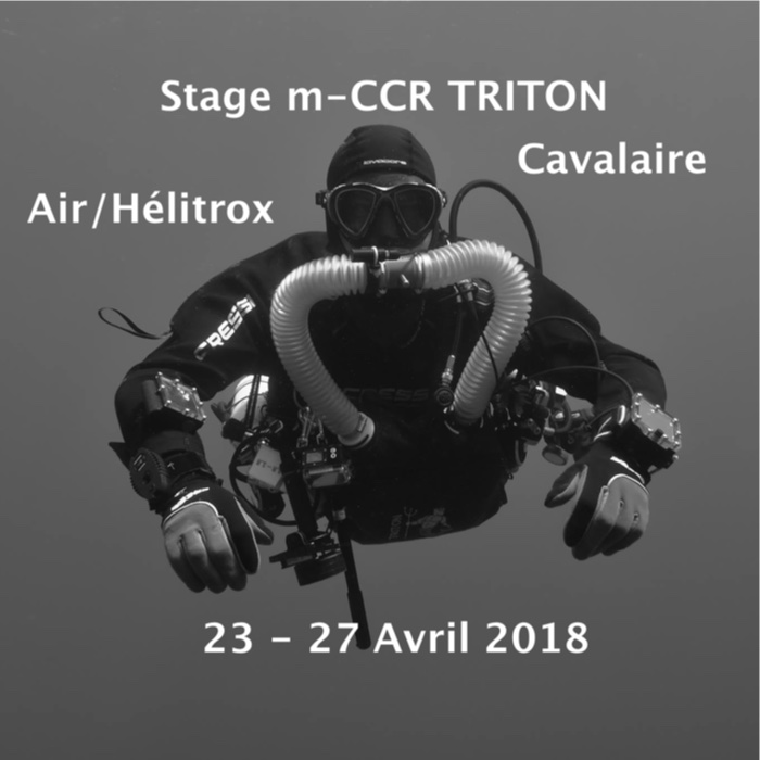 Cours Recycleur TRITON Air Diluant