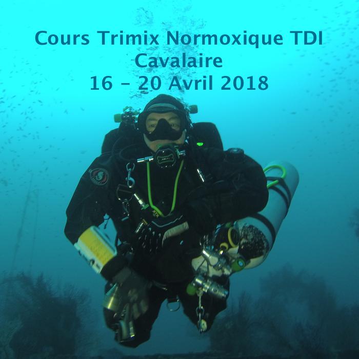 Cours Trimix Normoxique TDI