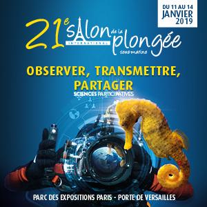 Le 21ème Salon de la Plongée a son affiche.