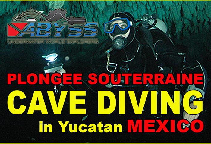 Stage de Plongée Souterraine au Mexique