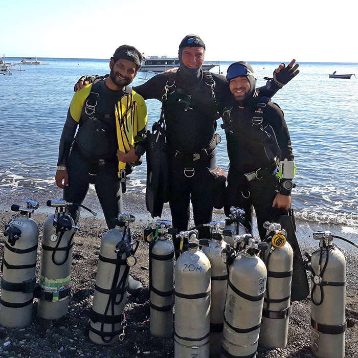 Formations Sidemount