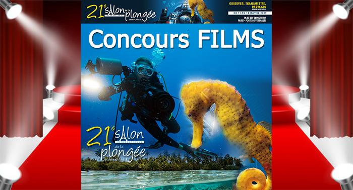 1ère participation au Concours Films du 21ème Salon de la Plongée