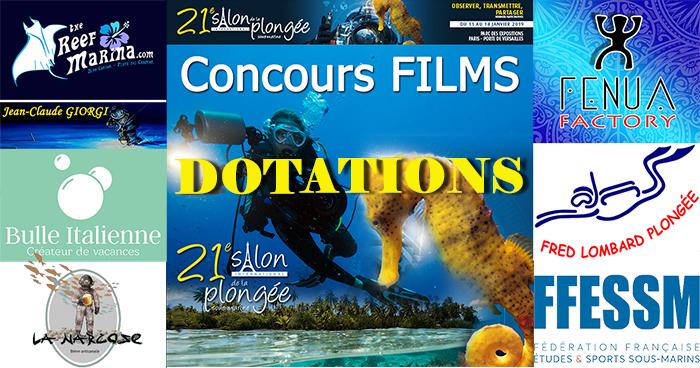 Concours Films, le Salon et les Exposants vous gâtent aussi…