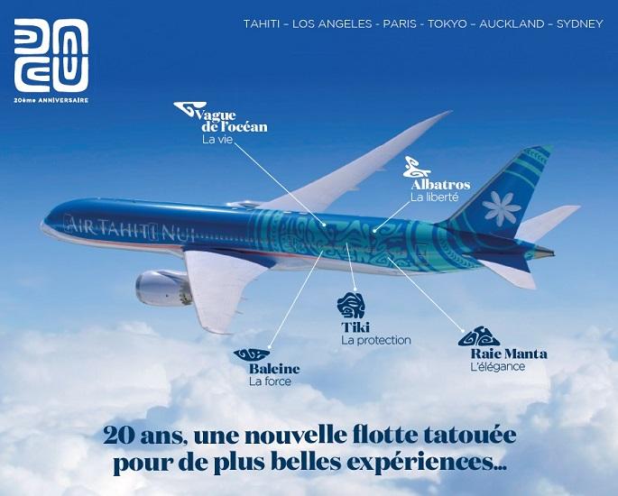 Amis Plongeurs,vos avantages Air Tahiti Nui