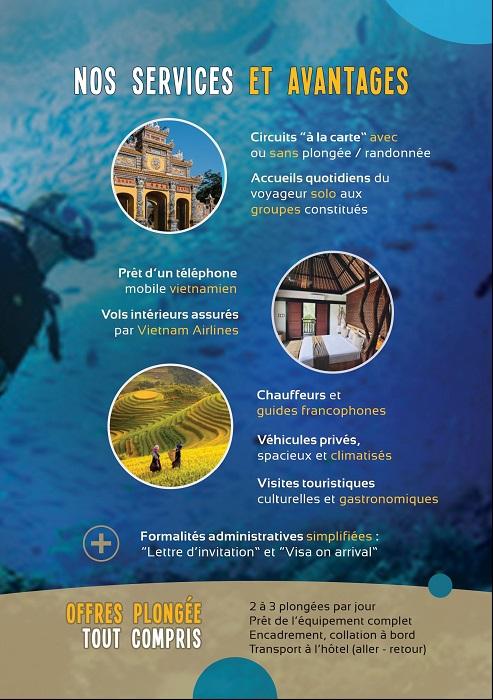 Euro Vietnam Diving vous fait gagner des invitations pour le 21ème Salon de la Plongée.