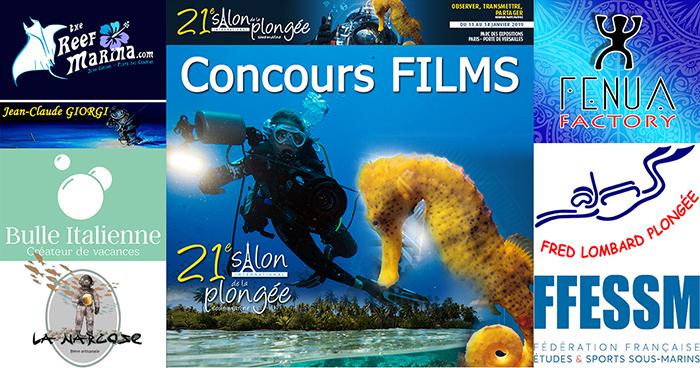 Concours « FILMS » du 21ème Salon de la Plongée.