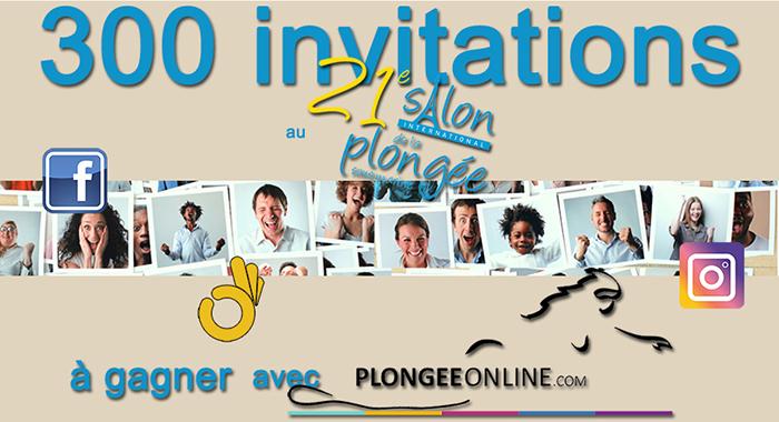 300 invitations à gagner