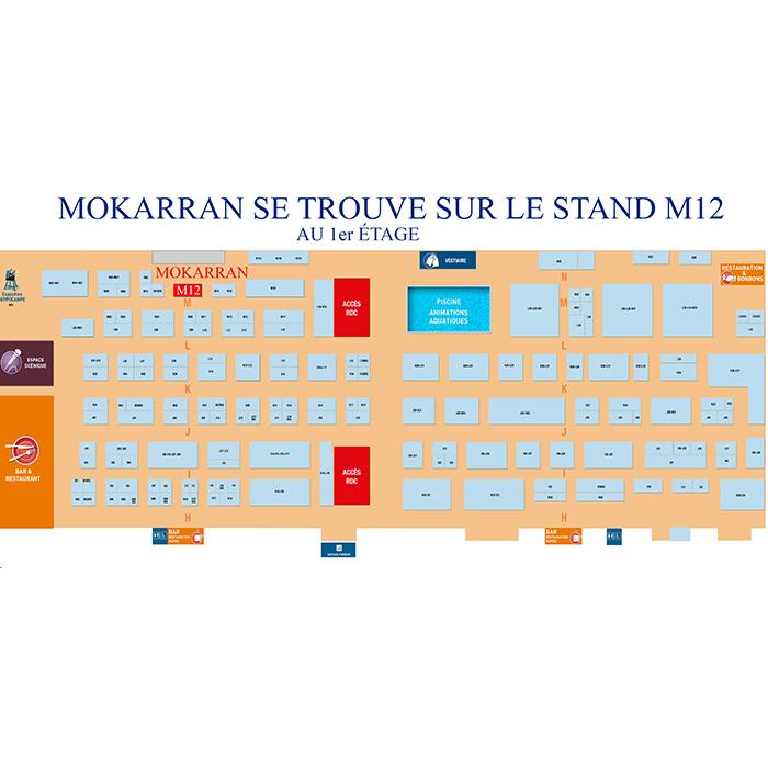 Trouver Mokarran (stand M12) sur le Salon ?!