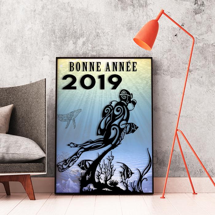 Nous vous attendrons stand N° i12 Pavillon 5-2  -  Bonne Année 2019