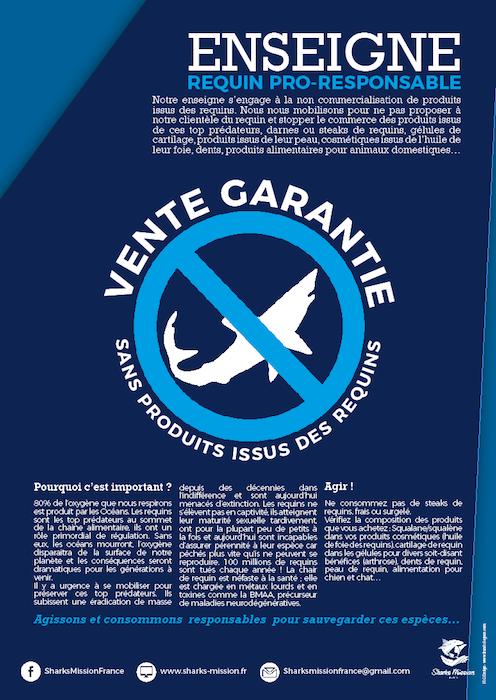 Charte Requin Pro Responsable , devenez pro actif pour la sauvegarde des requins