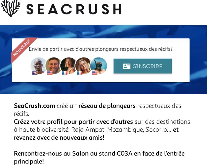 SeaCrush.com crée un réseau de plongeurs respectueux des récifs
