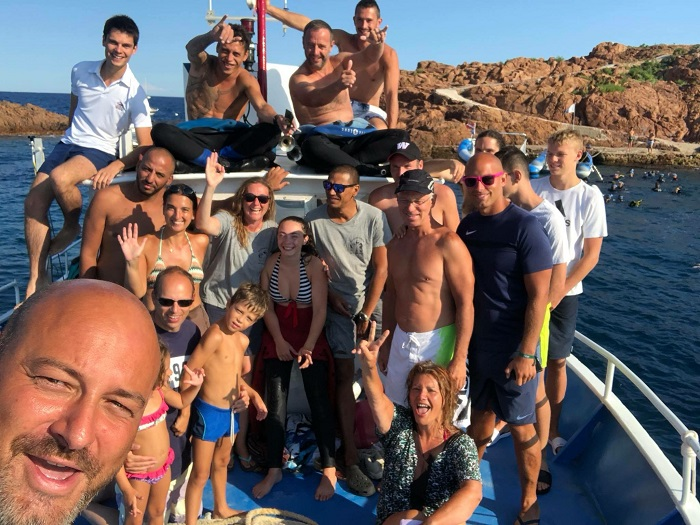 GROUPE 10 à 70 plongeurs ALPHA BELUGA Fréjus St Raphael