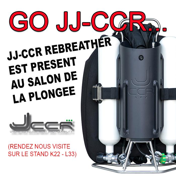 Jj-Ccr Rebreather est présent au Salon de la Plongée