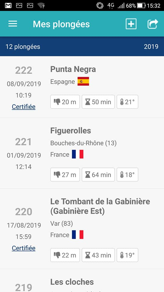 YOURDIVE POUR ANDROID