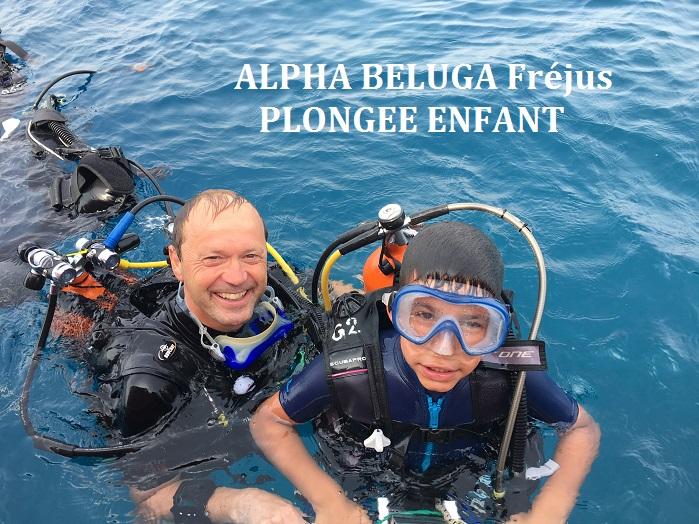 Formation Plongee ENFANT - ALPHA BELUGA