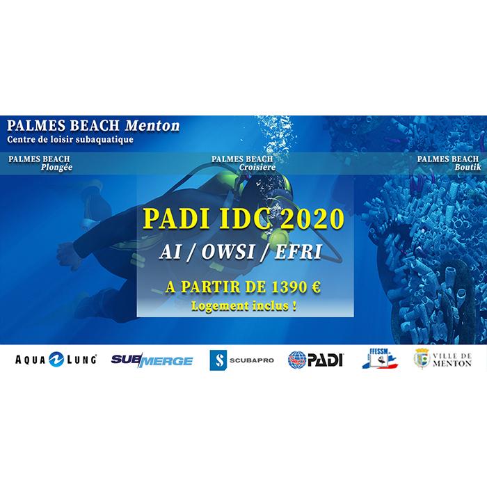 FORAMTION PADI IDC 2020