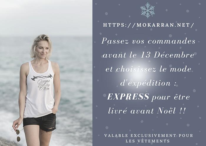 COMMANDE de Noël !!! Livraison EXPRESS
