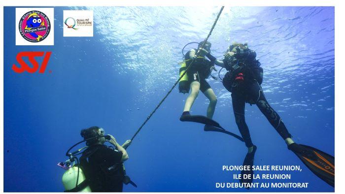 Plongée Salée Réunion, Formations Internationale SSI