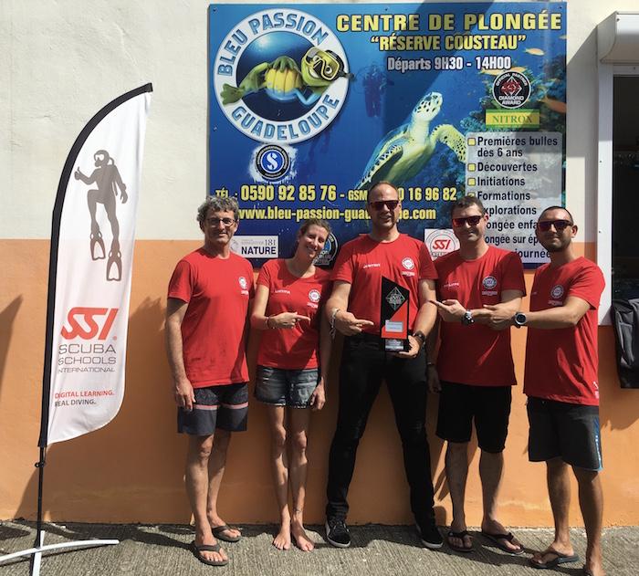 Bleu Passion Guadeloupe accède au statut Diamond SSI