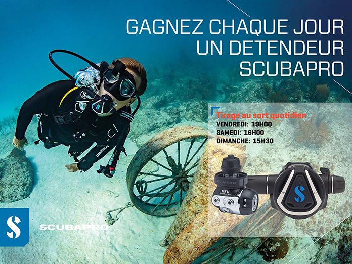 GAGNEZ CHAQUE JOUR UN DETENDEUR DE PLONGEE SCUBAPRO