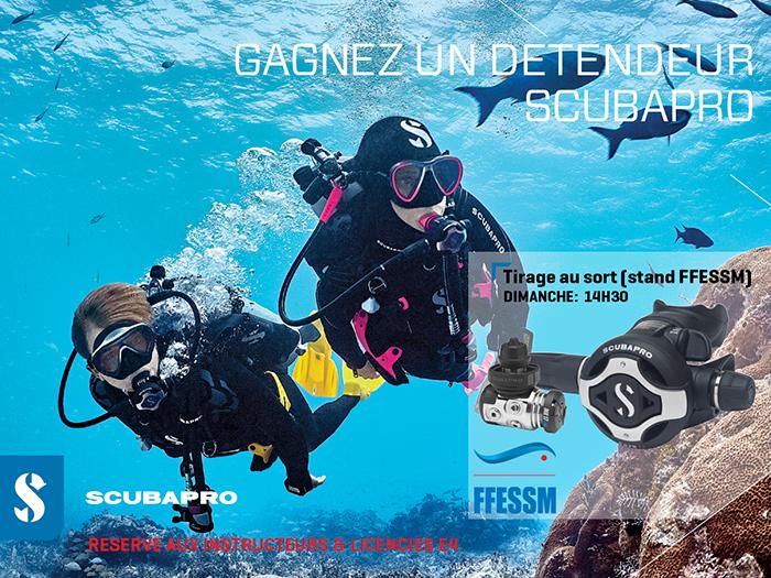 GAGNEZ UN DETENDEUR S620 Ti SCUBAPRO avec FFESSM