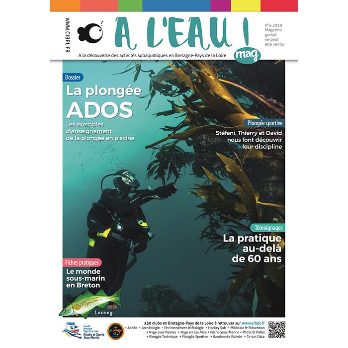 Le nouveau numéro du magazine A l'eau mag